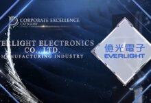 """EVERLIGHT Electronics won the 15th 2021 Asia-Pacific Enterprise Awards; APEA """"Corporate Excellence Award"""""""
